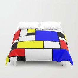 Mondrian Style Duvet Cover