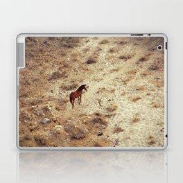 Horse in Santorini Laptop & iPad Skin
