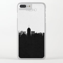 City Skylines: Fresno Clear iPhone Case