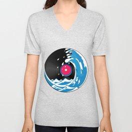Vinyl Wave Unisex V-Neck
