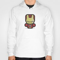 ironman Hoodies featuring Ironman by MaNia Creations