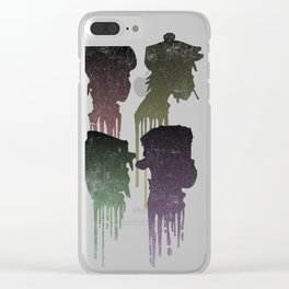 Demon Days Drip Clear iPhone Case
