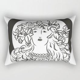 Mucha's Inspiration Rectangular Pillow