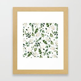 Magnolia Tree Framed Art Print