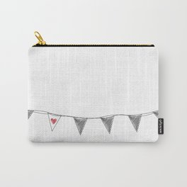 Heart String Carry-All Pouch