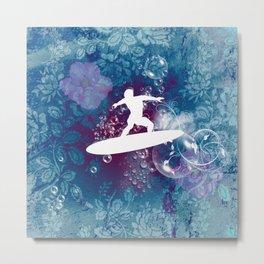 Sport, surfboarder Metal Print