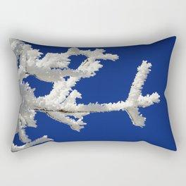Frozen Branches Rectangular Pillow