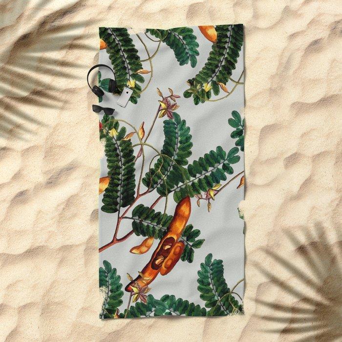 Under the Tamarind Tree #society6 #decor #buyart Beach Towel