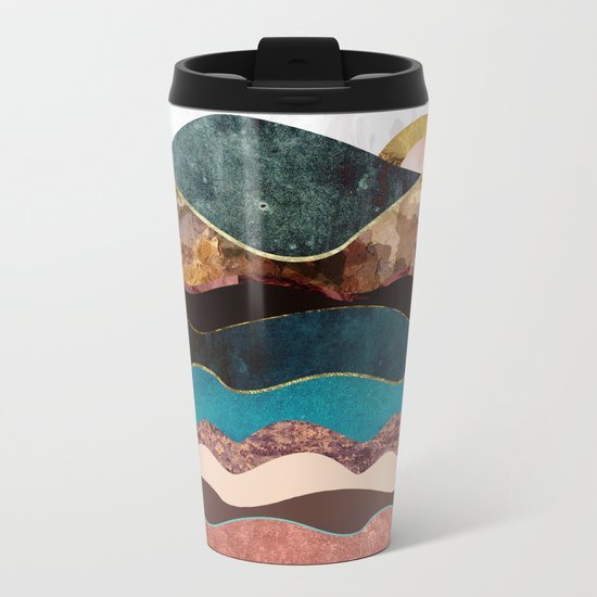 Blush Moon Metal Travel Mug