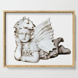 Sweet Forest Angel Serving Tray