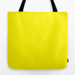 Simply Bright Yellow Tote Bag