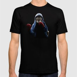 Boxing Cool Cat T-shirt
