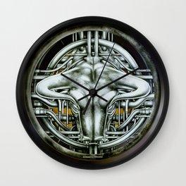 """Astrological Mechanism - Taurus"" Wall Clock"