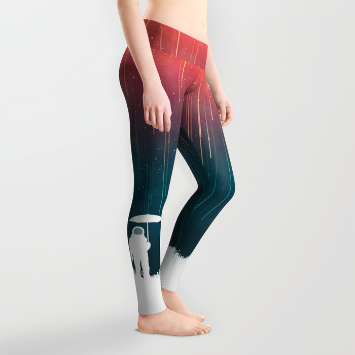 Meteoric rainfall Leggings