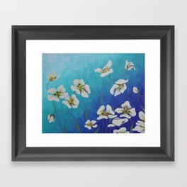 Dancing with the Wind Framed Art Print