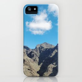 Green & Blue at Barranco del Infierno National Park, Tenerife iPhone Case