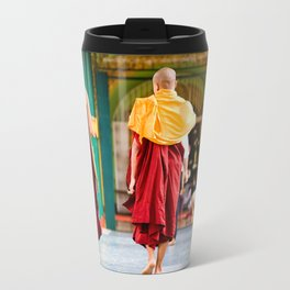 Monaci, Myanmar Travel Mug