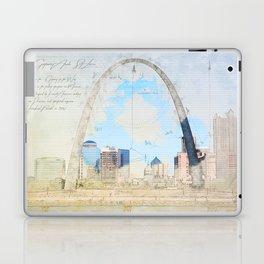 Gateway Arch, Saint Louis USA Laptop & iPad Skin