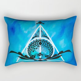 Deathly Hallows Rectangular Pillow