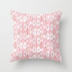 Harlequin Marble Mix Blush Throw Pillow