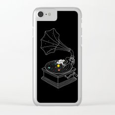 Star Track Clear iPhone Case