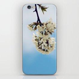 White & Blue iPhone Skin