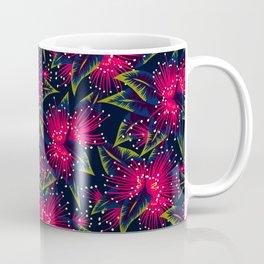 New Zealand Rata floral print (Night) Coffee Mug