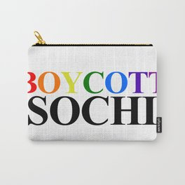 Boycott Sochi Carry-All Pouch