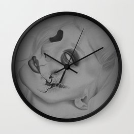 Devines zombies #3 Wall Clock