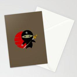 Ninja Star - Dark version Stationery Cards