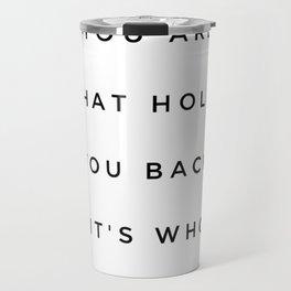 MARBLE QUOTE Travel Mug