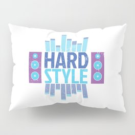Hardstyle Equalizer | Electro Techno Party Pillow Sham