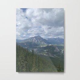 Sulphur Mountain Metal Print
