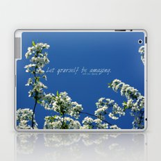 lovely message from Spring Laptop & iPad Skin