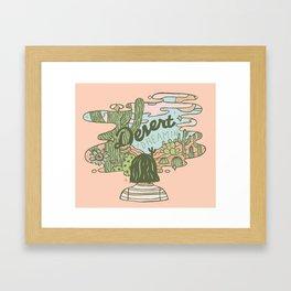 Desert Dreamin' Framed Art Print