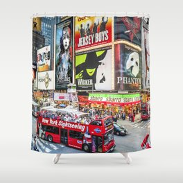 Times Square II Special Edition II Shower Curtain