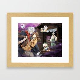 Kamisama Kiss: Secret of the Night Fog Framed Art Print