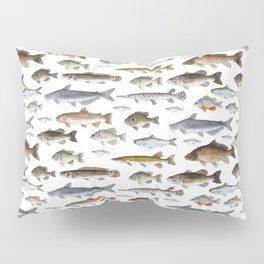 A Few Freshwater Fish Pillow Sham