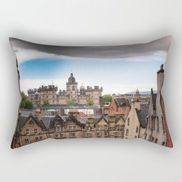 View of Edinburgh architecture from Victoria Street Rectangular Pillow