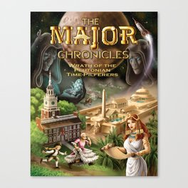 Major Chronicles II True Color Canvas Print