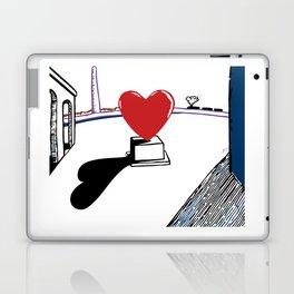 De Chirico and heart Laptop & iPad Skin