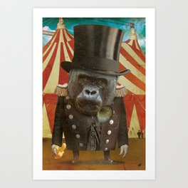 Circus-Circus :: The Bouncer Art Print