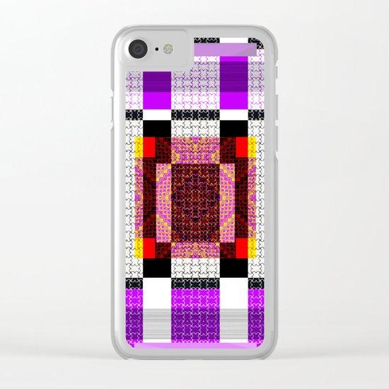 Digi-Tile Clear iPhone Case