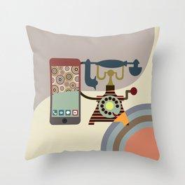 Telecom Chic Throw Pillow