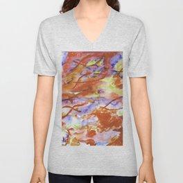 Infinity Abstract Unisex V-Neck