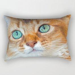 EYE CAT-CHING Rectangular Pillow