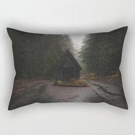 This is the forest in the city of Tokyo. Rectangular Pillow