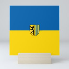 flag of Leipzig Mini Art Print