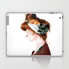 Red Head Laptop & iPad Skin