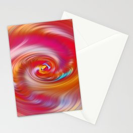 """Desert Sun #2 ~ Twirl"" Painting Stationery Cards"